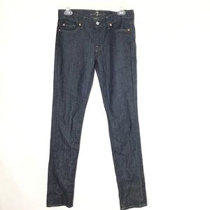 7 For All Mankind Roxanne Dark Wash Skinny Jean